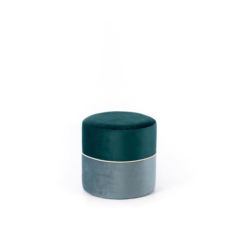 pouff (40 x 40 cm) design twist olivia