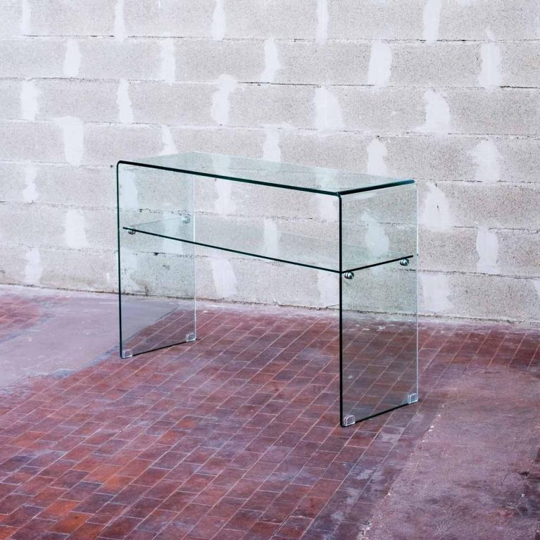 Shelf 120x40x80 Con Ripiano Trasparente