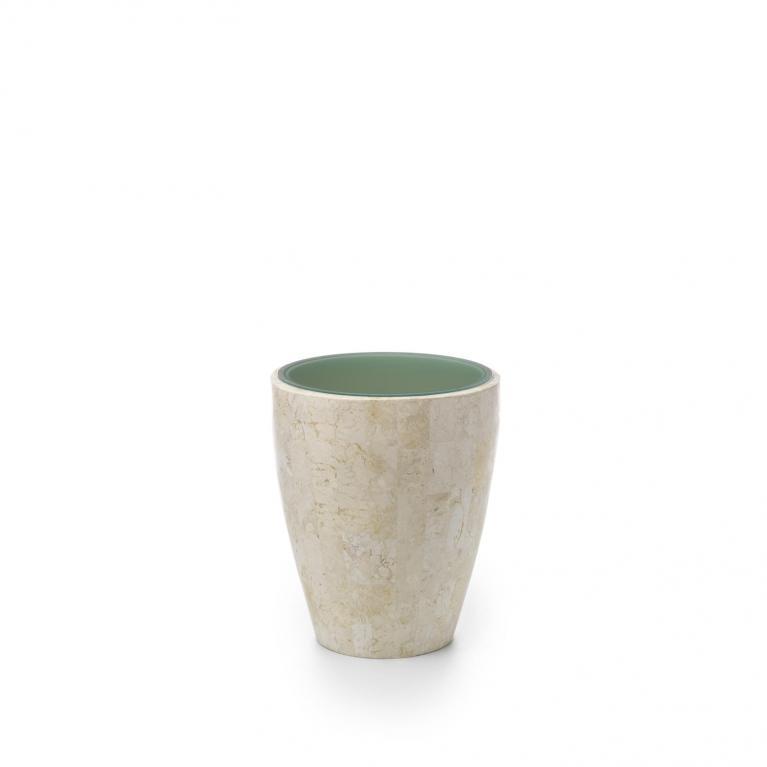tavolino / end table (50 x 50 - trasparente) stones bongo