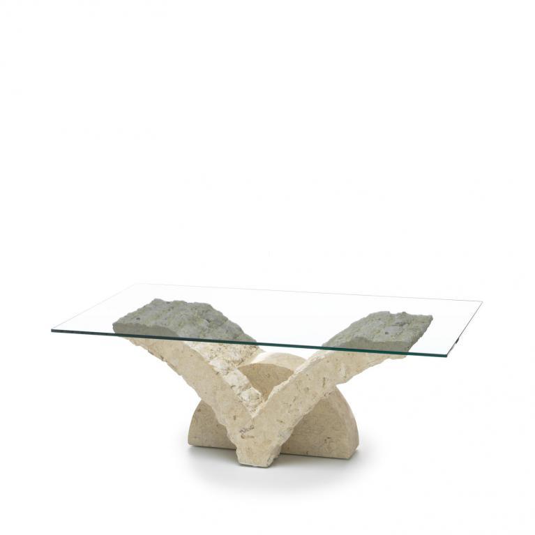 tavolino stones papillon