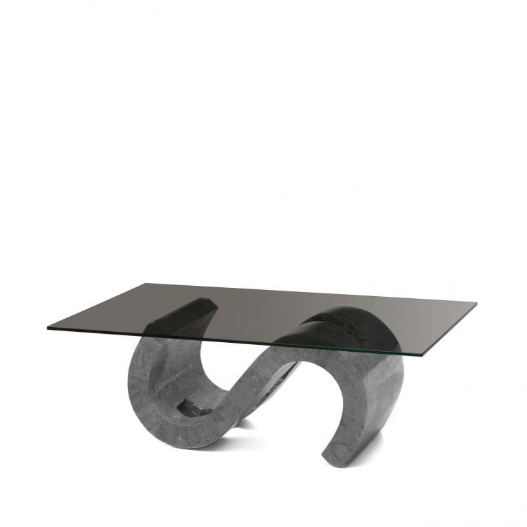 tavolino (120 x 70 - bronzo) stones flexus