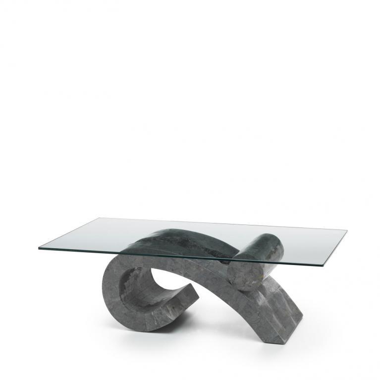tavolino (120 x 70 cm) stones virgola