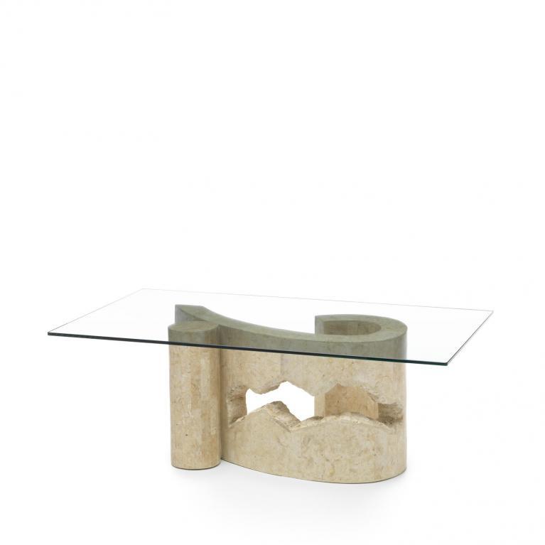 tavolino stones virgola