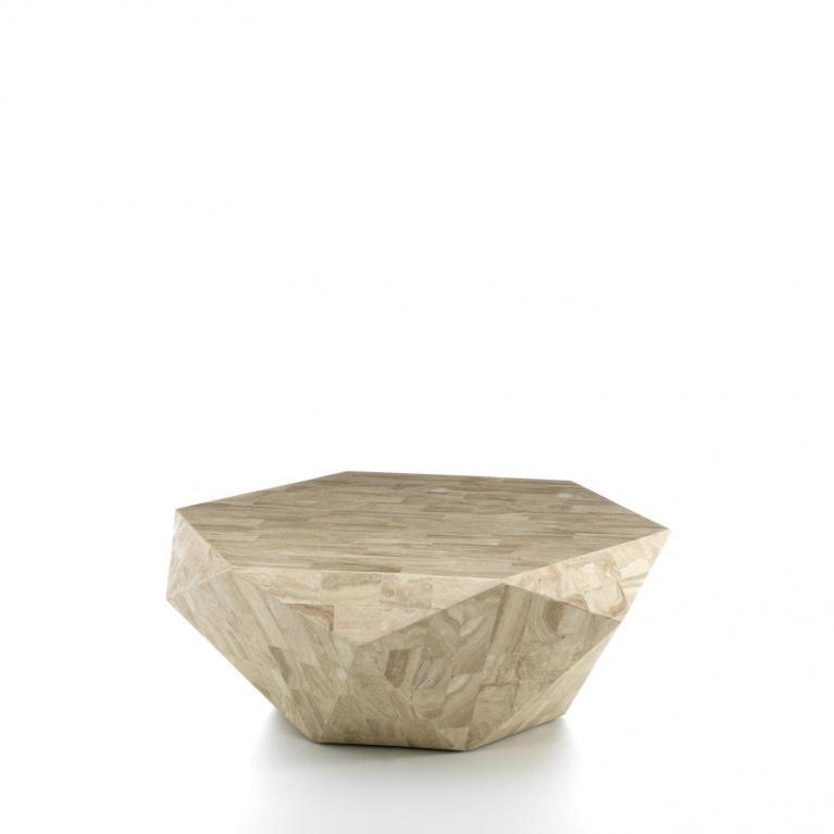 tavolino (102 x 102 cm) stones diamond big