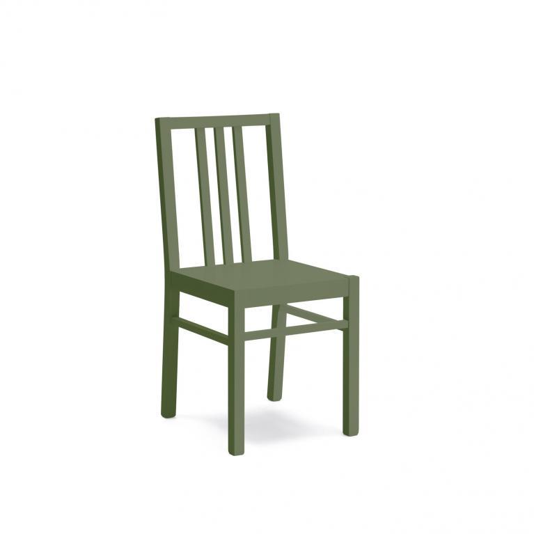 sedia in legno laccato stones mina