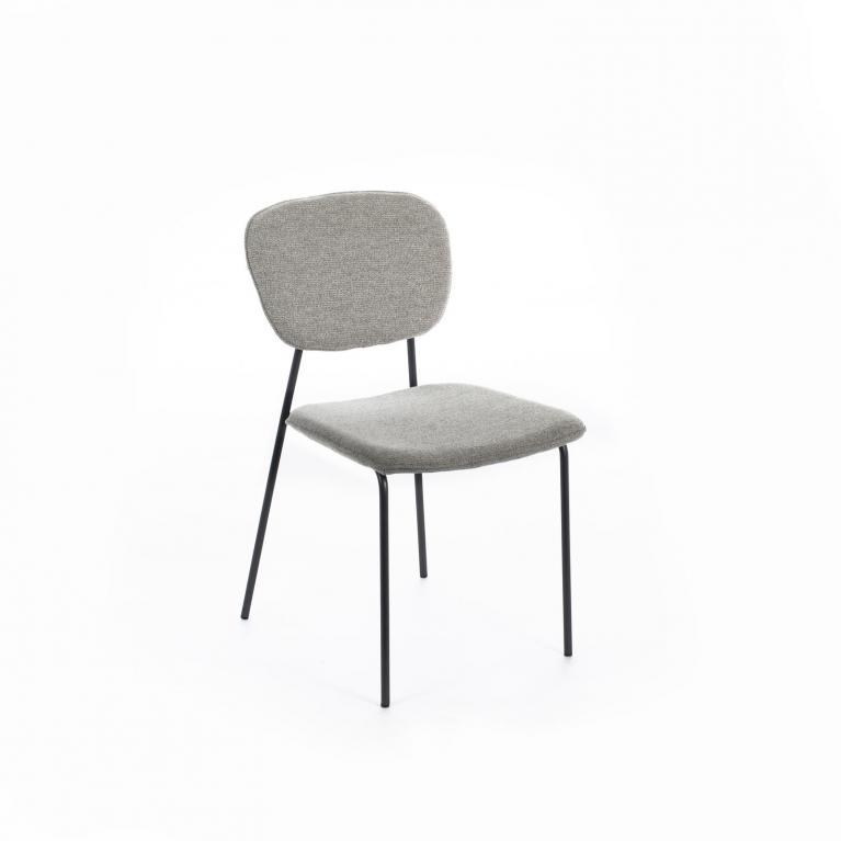 sedia in tessuto stones arya