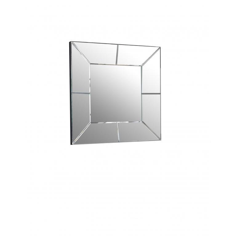specchio da parete (81 x 81 cm) stones violet