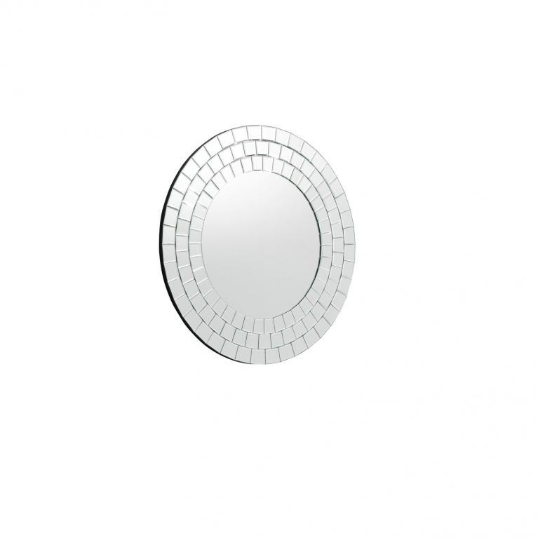 specchio da parete (80 x 80 cm) stones paka