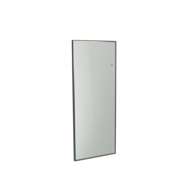 specchio da parete con luce l (150 x 60 cm) stones lux