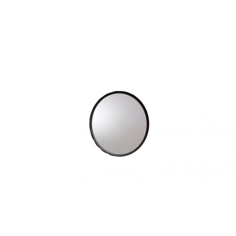 specchio da parete con luce l (60 x 60 cm) stones oled