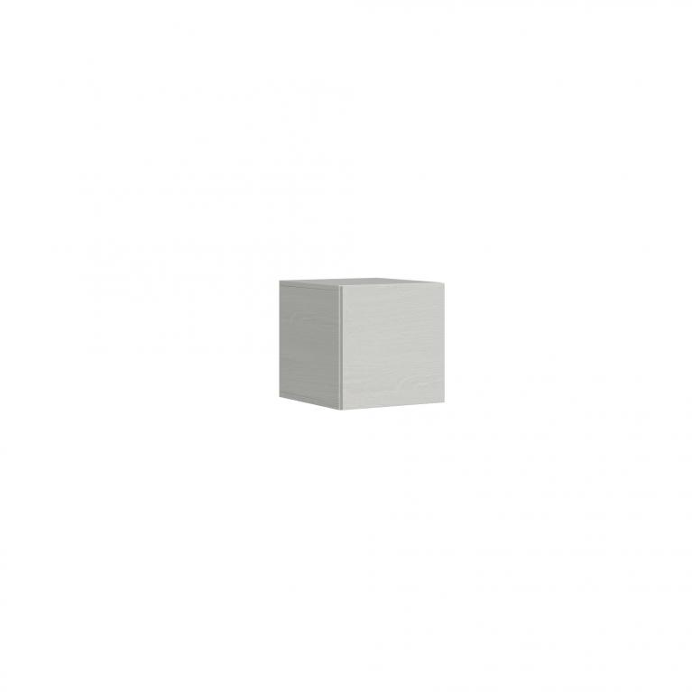 Pensile L.40 H.40 P.39,5 sx-dx Bianco Frassino
