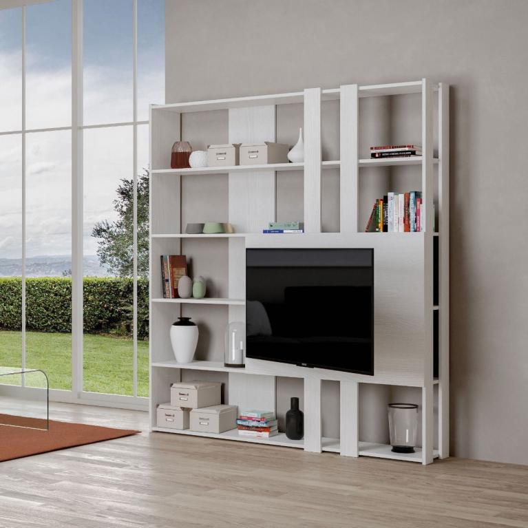 Composizione M Kato 6R 2 fianchi 2 fasce lunghe 2 fasce corte 2 fasce medie pannello TV BF