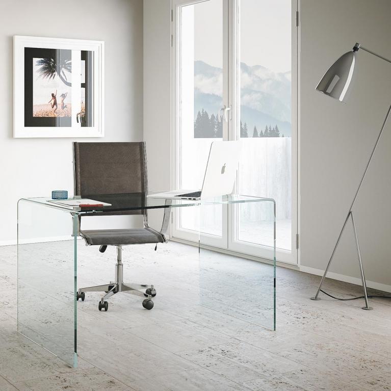 Scrittoio Office Glassy 120x70x75 lati chiusi New Price 168